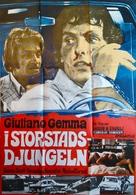 Troppo rischio per un uomo solo - Swedish Movie Poster (xs thumbnail)