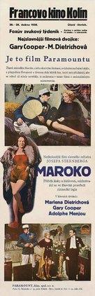 Morocco - Czech Movie Poster (xs thumbnail)