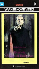 Dracula: Prince of Darkness - British VHS movie cover (xs thumbnail)