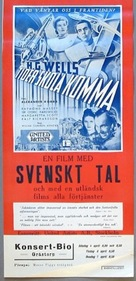 Things to Come - Swedish Movie Poster (xs thumbnail)