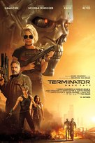 Terminator: Dark Fate - Danish Movie Poster (xs thumbnail)