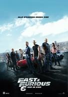 Furious 6 - German Movie Poster (xs thumbnail)