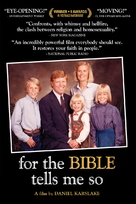 For the Bible Tells Me So - DVD cover (xs thumbnail)