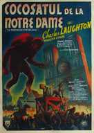 The Hunchback of Notre Dame - Romanian Movie Poster (xs thumbnail)