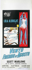 A Cold Wind in August - Italian Movie Poster (xs thumbnail)
