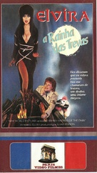 Elvira, Mistress of the Dark - Brazilian VHS cover (xs thumbnail)