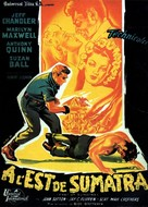 East of Sumatra - French Movie Poster (xs thumbnail)