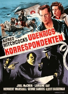 Foreign Correspondent - Danish Movie Poster (xs thumbnail)