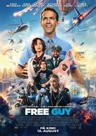 Free Guy - Norwegian Movie Poster (xs thumbnail)