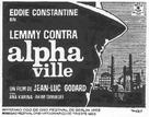 Alphaville, une étrange aventure de Lemmy Caution - Spanish Movie Poster (xs thumbnail)