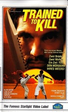 Trained to Kill - German VHS cover (xs thumbnail)