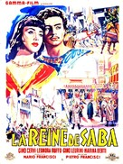 La regina di Saba - French Movie Poster (xs thumbnail)