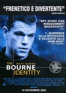 The Bourne Identity - Italian Movie Poster (xs thumbnail)