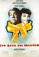 Un singe en hiver - German Movie Poster (xs thumbnail)