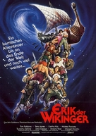 Erik the Viking - German Movie Poster (xs thumbnail)
