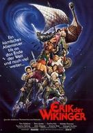 Erik the Viking - German Movie Poster (xs thumbnail)