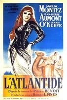 Siren of Atlantis - French Movie Poster (xs thumbnail)