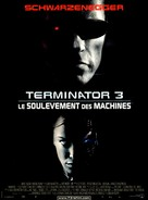 Terminator 3: Rise of the Machines - French Movie Poster (xs thumbnail)