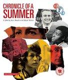 Chronique d'un été (Paris 1960) - British Blu-Ray cover (xs thumbnail)