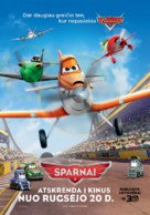 Planes - Lithuanian Movie Poster (xs thumbnail)
