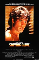 Staying Alive - Movie Poster (xs thumbnail)