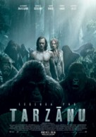 The Legend of Tarzan - Latvian Movie Poster (xs thumbnail)