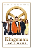 Kingsman: The Golden Circle - Turkish Movie Cover (xs thumbnail)