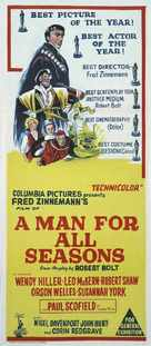 A Man for All Seasons - Australian Movie Poster (xs thumbnail)