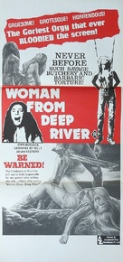 Cannibal ferox - Australian Movie Poster (xs thumbnail)