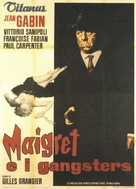 Maigret voit rouge - Italian Movie Poster (xs thumbnail)