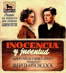 Young and Innocent - Spanish Movie Poster (xs thumbnail)