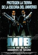 Men In Black - Spanish Movie Poster (xs thumbnail)
