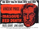The Masque of the Red Death - British Movie Poster (xs thumbnail)