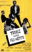 Tirez sur le pianiste - French Movie Poster (xs thumbnail)