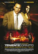 The Bad Lieutenant: Port of Call - New Orleans - Spanish Movie Poster (xs thumbnail)