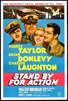 Stand by for Action - Movie Poster (xs thumbnail)