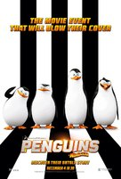 Penguins of Madagascar - Thai Movie Poster (xs thumbnail)