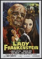 La figlia di Frankenstein - Italian Movie Poster (xs thumbnail)