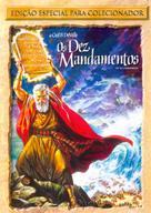 The Ten Commandments - Brazilian Movie Cover (xs thumbnail)