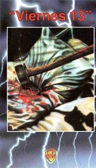Friday the 13th - Spanish VHS cover (xs thumbnail)