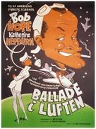 The Iron Petticoat - Danish Movie Poster (xs thumbnail)