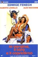 La vergine, il toro e il capricorno - Italian DVD cover (xs thumbnail)