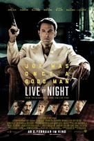 Live by Night - Swiss Movie Poster (xs thumbnail)