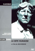 La bête humaine - French Movie Cover (xs thumbnail)