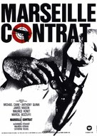 The Marseille Contract - French Movie Poster (xs thumbnail)