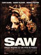 Saw - French Movie Poster (xs thumbnail)