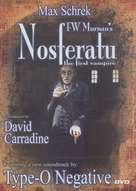 Nosferatu, eine Symphonie des Grauens - DVD movie cover (xs thumbnail)