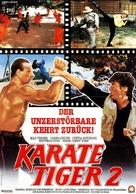 No Retreat No Surrender 2 - German Movie Poster (xs thumbnail)