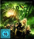 Sucker Punch - German Blu-Ray cover (xs thumbnail)