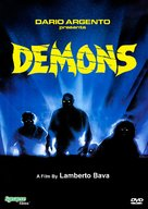 Demoni - DVD cover (xs thumbnail)
